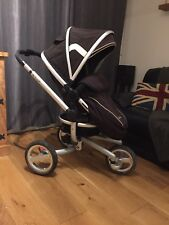 Silver Cross Surf Pushchair / Single Seat Stroller Inc Car Seat And Isofix Base