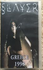 Slayer - Greece 1998 ULTRA RARE VHS/Video