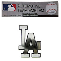 New MLB Los Angeles Dodgers Car Truck Suv Automobile Plastic Chrome Emblem