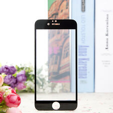 iPhone 6/6S Screen Protector Premium Frame Full Cover 9H Tempered Glass - Black