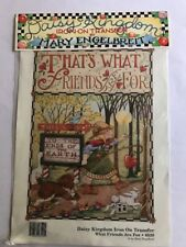 DAISY KINGDOM – MARY ENGELBREIT IRON ON TRANSFER: WHAT FRIENDS ARE FOR (6520)