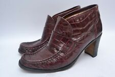 Seriously Cool Designer Vintage Patrick Cox Italian Leather Heeled Boots