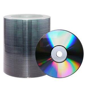 200 MediaRange Silver Thermal Silkscreen Printable Blank CD-R Discs 52x MR230