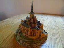 Mont Saint-Michel Castle (France); Danbury Mint Enchanted Castles of Europe