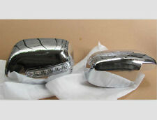 Chrome Rear view Mirror Covers For 2008-2017 Corolla Yaris Vios 2pcs