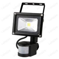 Outdoor LED Flood Light Detector PIR Motion Sensor Security Lamp Auto ON/OFF