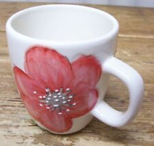 Laurie Gates Posie Collection Orange Flower Coffee Mug Cup