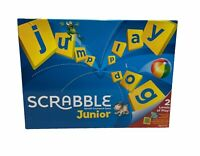 Junior Scrabble Game by Mattel Games - Age 6 -10. (Level 1&2)  -Complete-