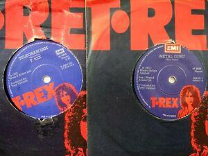 "vinyl 7""records x2 t.rex singles"