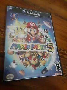 Mario Party 5 Nintendo Gamecube Replacement Case