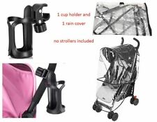 Rain Wind Cover Shield Cup Holder Bottle Coffee for EVENFLO Baby Child Stroller