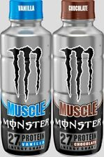 Monster Muscle Energy Protein Shake - Variety pack - 15fl.oz. (Pack of 12)