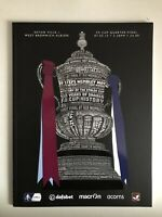 2015 FA Cup Quarter Final Programme Aston Villa v West Bromwich Albion