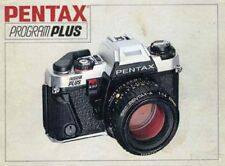 Pentax Program Plus Slr 35mm Camera Owners Instruction Manual -from 1980s
