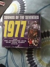 SOUNDS OF THE SEVENTIES. 1977. READERS DIGEST 3 CD SET