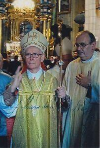 Original signiertes Foto Stanislaw Cardinal Nagy - Kardinal †2013
