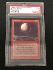 Magic the Gathering Blood Moon The Dark PSA 9 aus Sammlung Collection