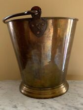 Brass Water Bucket Early 1900s ,India ,Antique Hand Crafted