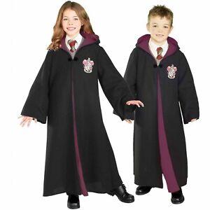 Kid's Harry Potter Gryffindor Hogwarts Fleece Robe Costume SIZE XL (Used)
