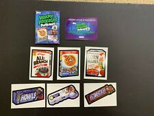 2013 Topps Wacky Packages Series 9 Postcards Autograph 6 Card Set + Envelope