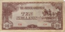 10 Shillings Oceania Japanese Invasion Money Currency Note Banknote Bill Jim Ww2