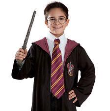 2x HOGWARTS Gryffindor//Slytherin//Ravenclaw//Hufflepuff Costume Scarf /& Tie MG