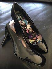 Black Patent Next Court Shoes Size 4 1/2