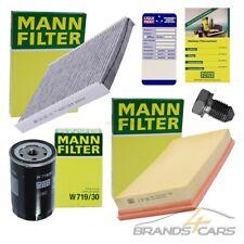 MANN-FILTER INSPEKTIONSPAKET FILTERSATZ A FÜR AUDI A3 8L 1.6 1.8 S3 BJ 97-03