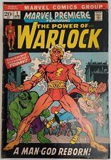 Marvel Premiere # 1 First Him as Adam Warlock Key Book!!! Lower Grade.