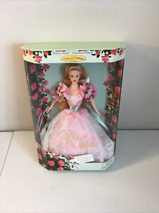 Barbie Garden of Flowers First in a Series Doll - Rose Barbie - #22337 (1998)