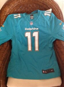 Miami Dolphins NFL Jersey Retail $100 mike wallace new with tags Size L Men's