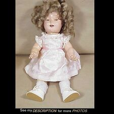 "1934 Ideal 18"" Shirley Temple Composition Doll"