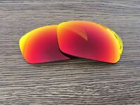 Inew fire ruby red Polarized Replacement Lenses For-Arnette  Rage XL