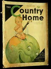 COUNTRY HOME Magazine January 1932