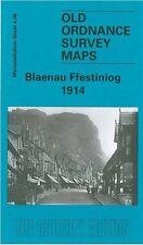 MAP OF BLAENAU FFESTINIOG 1914