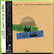 The Beatles AT THE HOLLYWOOD BOWL '64-65 Gate-fold mini LP Japan CD Sealed w/OBI