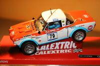Slot SCX Scalextric 63770 Fiat 124 Spyder Nº79
