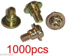Flanged HDD screws with shoulder. Hex/Philips head. 6-32 thread. 6x4. 1000Pcs.