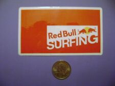 Red Bull Surfing Sticker Red Bull Red Bull Skiing Stickers