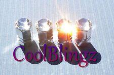 CRYSTAL Rhinestone Sparkle Bling Tire Valve Stem Caps made w/ Swarovski Elements