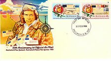 1984 Australia & New Zealand & Png 1st Official Mail - Maylands Wa 6051 Pmk