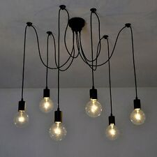 Spider Lamp 6 Arms Antique Classic Chandelier Ceiling Light E27 Retro Dining Hal