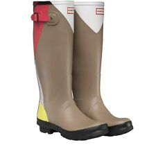 Hunter Original Womens Original Tall Dazzle Wellington Rain Boots Bright UK 3