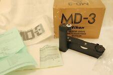 Nikon MD-3 MD3  motor drive MINT  boxed