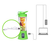 USB Juicer Cup Portable Juice Blender, Household Fruit Mixer Outdoor Travel