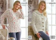 KING COLE POPSICLE COTTON MIX  DOUBLE KNITTING  - PATTERN 3889
