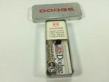 Dodge 30862 Silver Gold Black Women's Wrist Watch New Old Stock Date