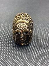 Mens Skull Ring Size 9 Alloy Metal