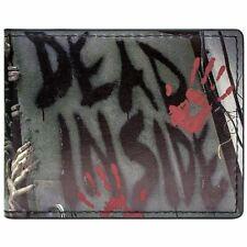 NEW OFFICIAL AMC WALKING DEAD INSIDE MULTICOLOURED ID & CARD BI-FOLD WALLET