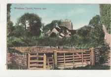 Westham Church Sussex Vintage Postcard W Brooker 678a